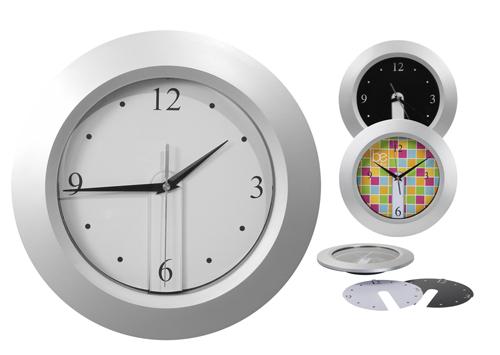 ceas de perete cu cadran detasabil Brattain