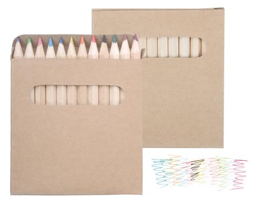 set 12 creioane colorate Lea