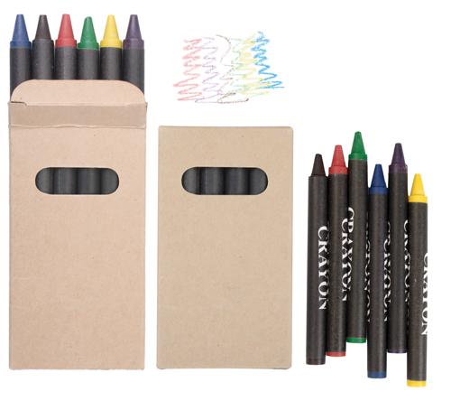 creioane cerate, 6 buc Liddy